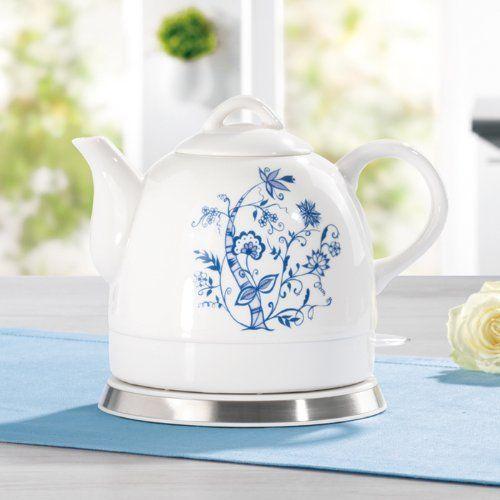 Gourmet Maxx Wasserkocher Keramik Plus Wassererwärmer Kessel ...