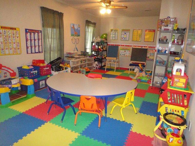 Classroom For Child Care Preschool Daycare Decor Home Daycare