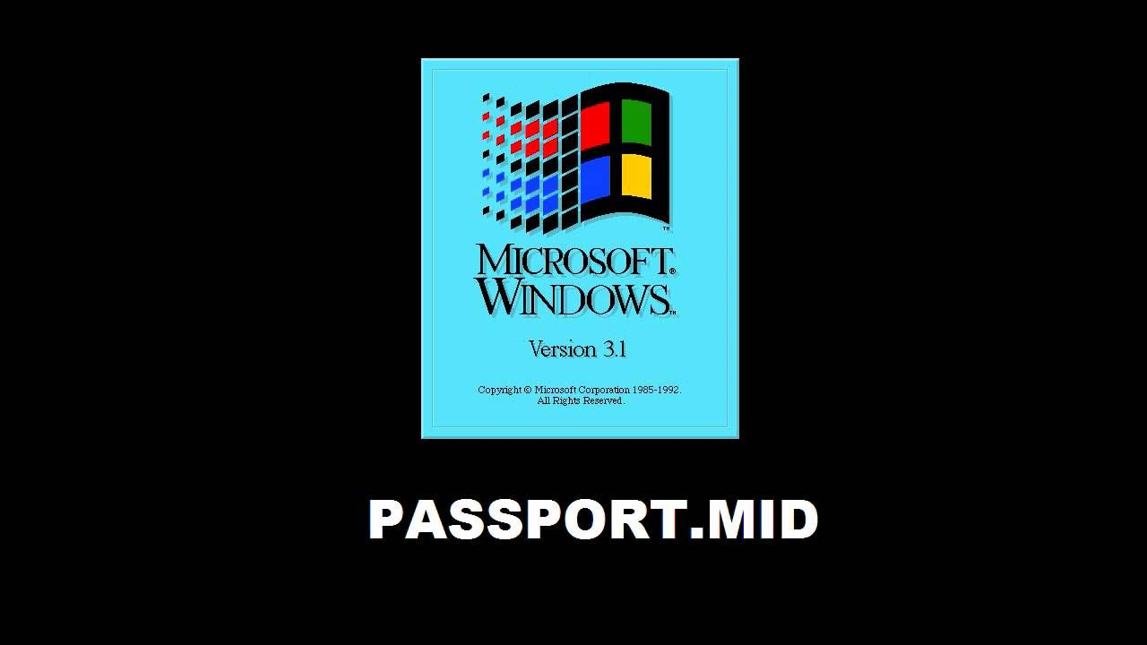 PASSPORT.MID played on a Roland Sound Canvas SC-55