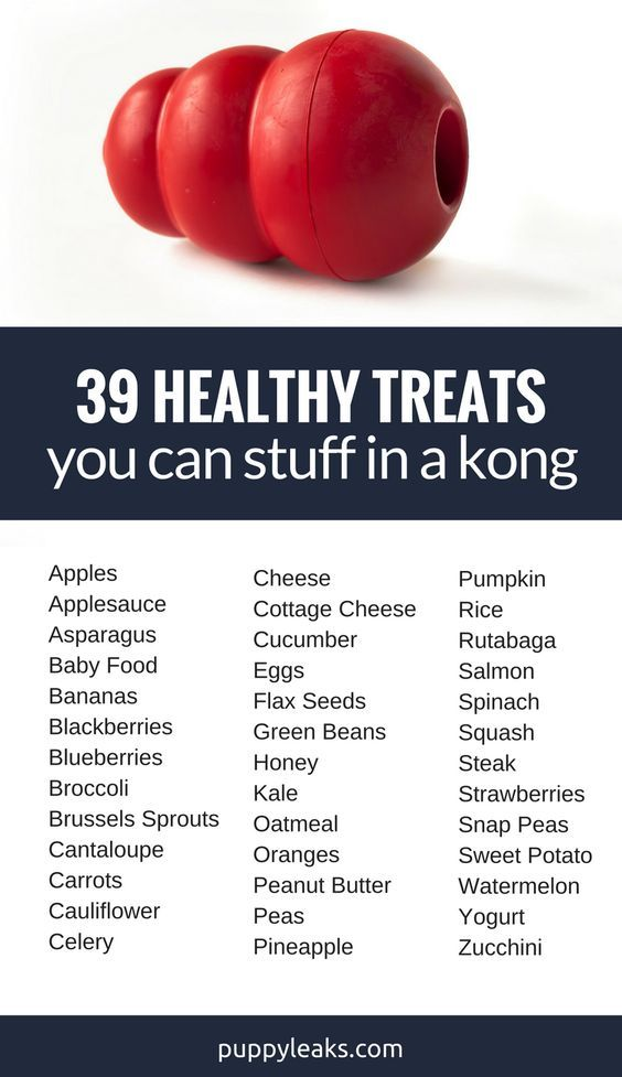 39 Healthy Treats You Can Stuff In A Kong Dog Recipes Dog Food