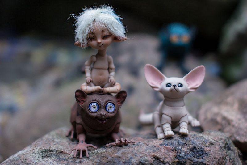 оранжерея por AnnaMoroz Fairy World & Fantastic Creatures Keka❤❤❤