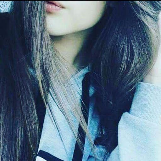 Profile Girl Hiding Hijab Cute Face