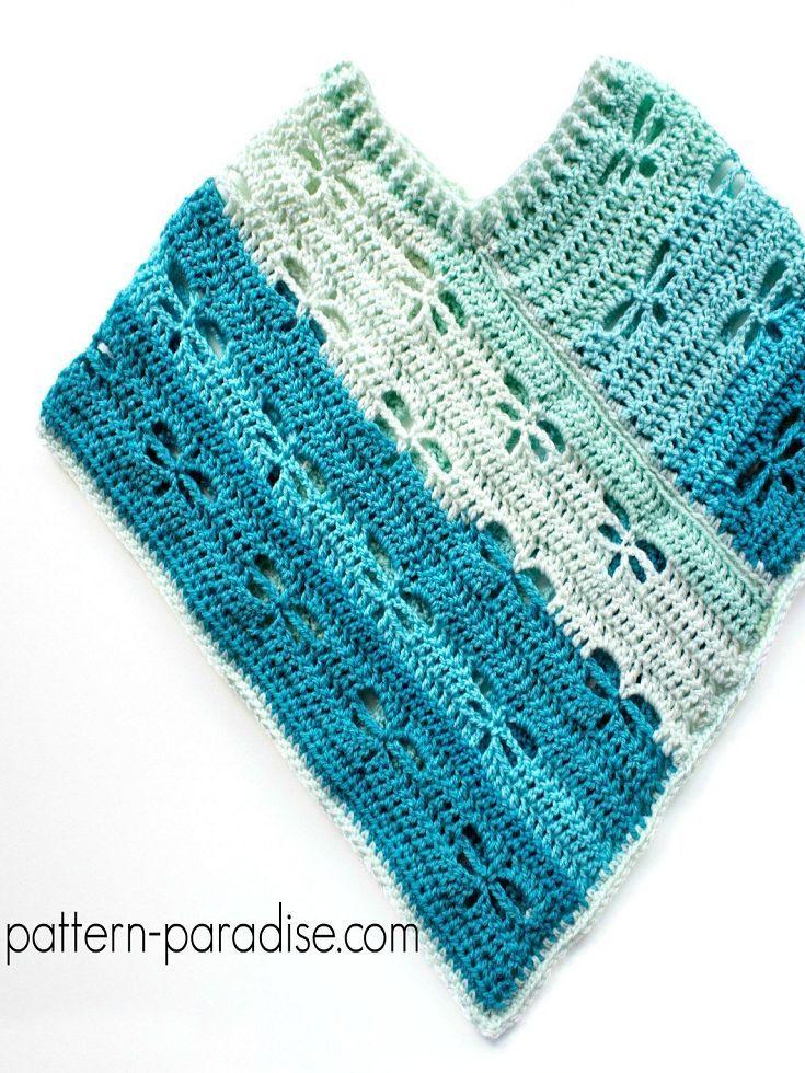 Resultado de imagem para pinterest crochet | пончо крючком | Pinterest