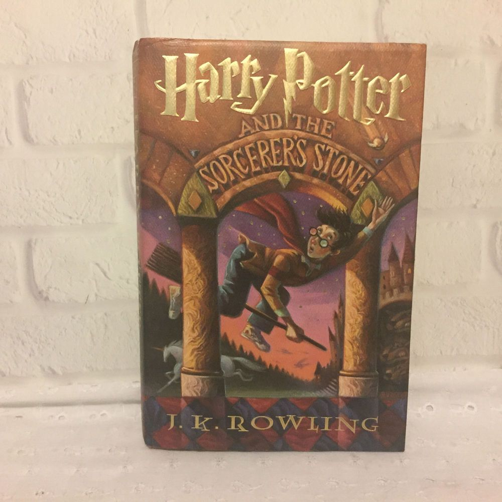 Harry Potter And The Sorcerers Stone 1998 First American Edition