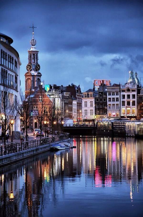 Canals of Amsterdam The Netherlands Travel Ideas