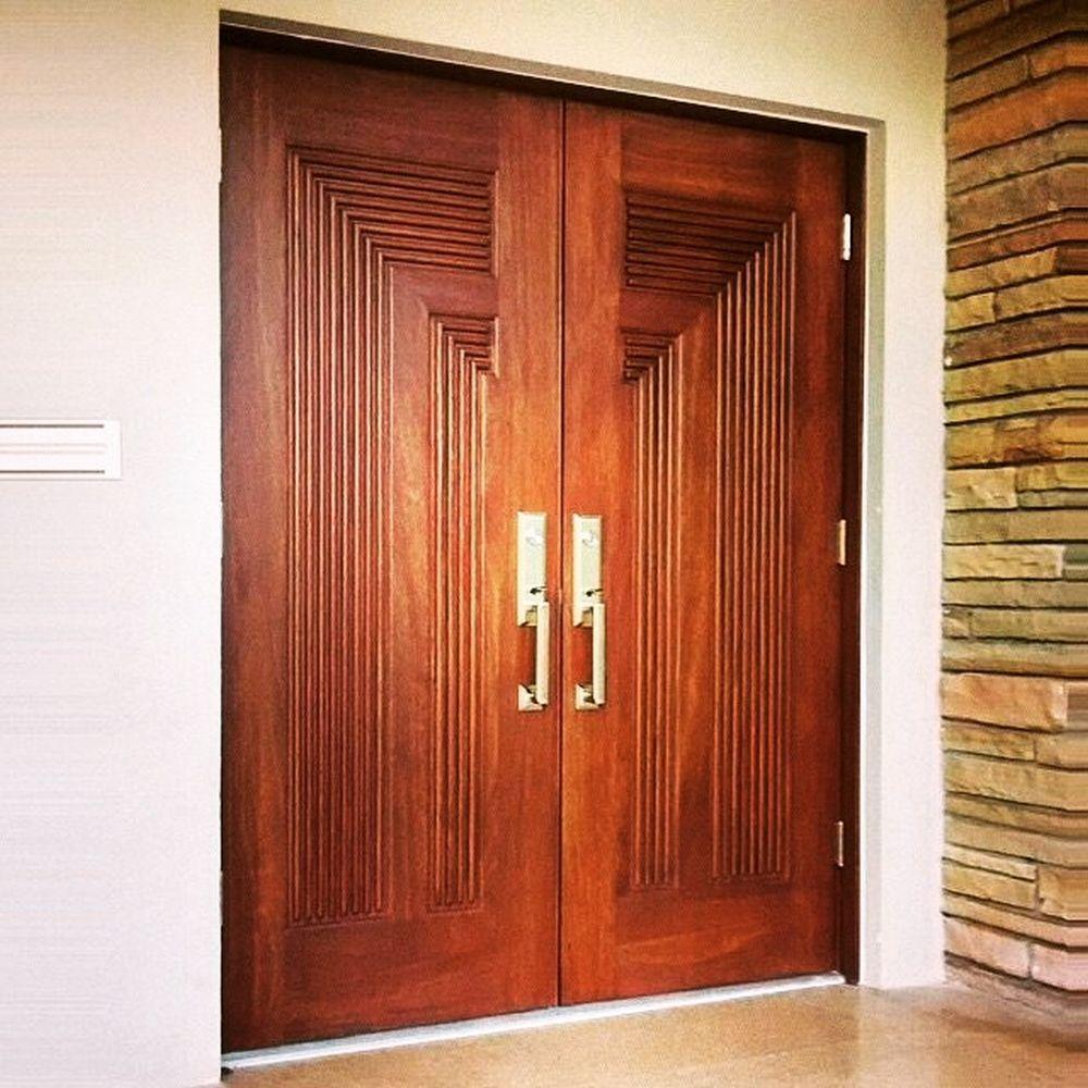 Custom Mahogany Entryway Manufactured By Exclusive Wood Doors Exclusivewooddoors Ewd Wooddoors Solid Modern Entrance Door Modern Entrance Solid Wood Doors