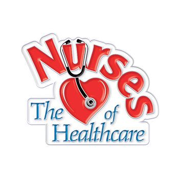 Pack of 6 Nurses Lapel Pins with Gift Cards Appreciation Awards for National Nurses Week