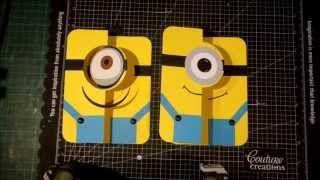 Glenda Cairns Minion Card Flip Cards Card Making Projects
