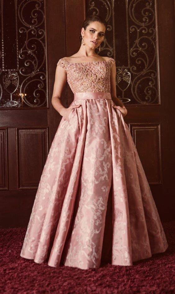 COMO UMA PRINCESA: VESTIDO DE FESTA COM SAIA GODÊ | Gowns, Debutante ...