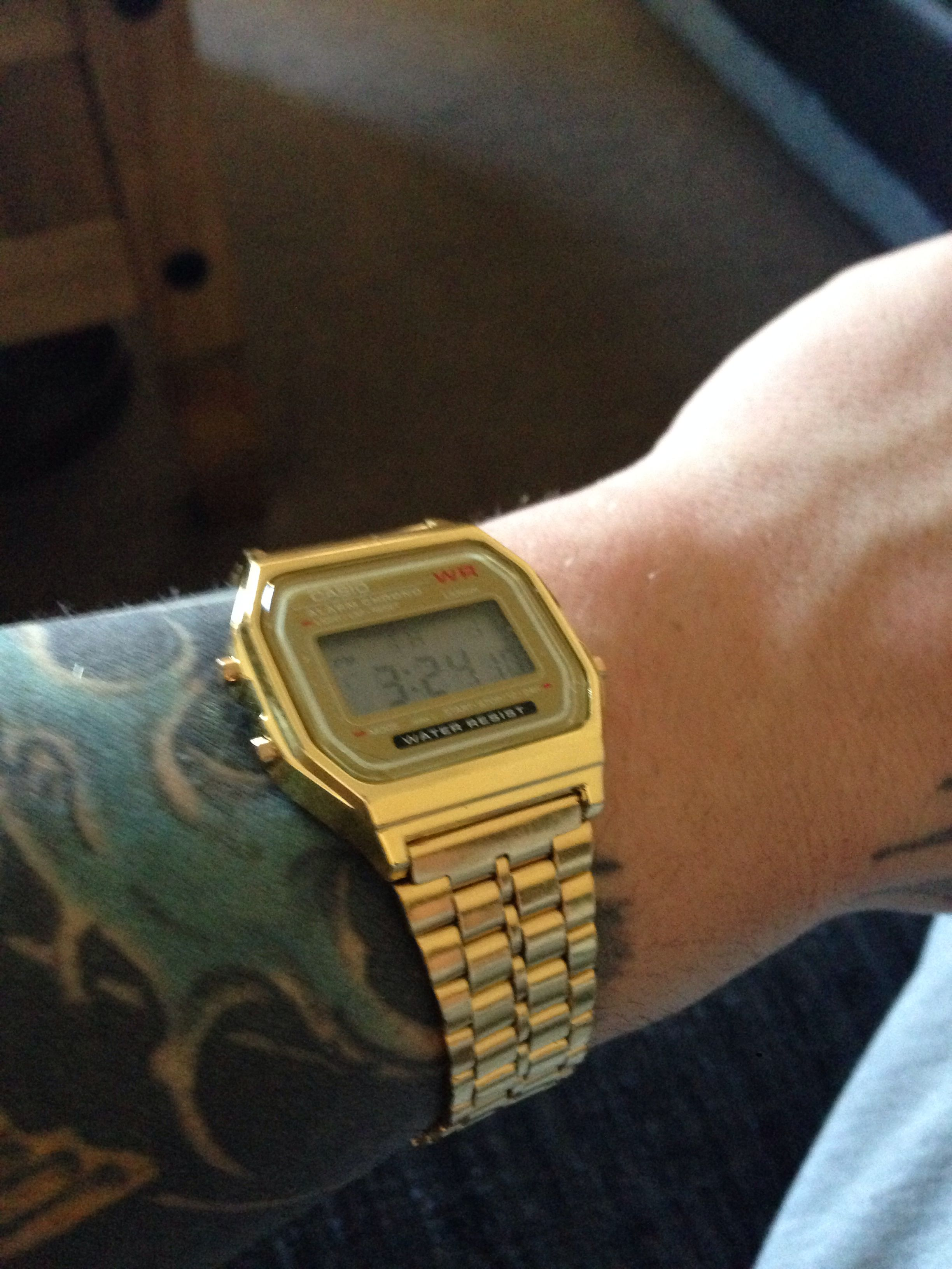 #watch#retro#gold#new