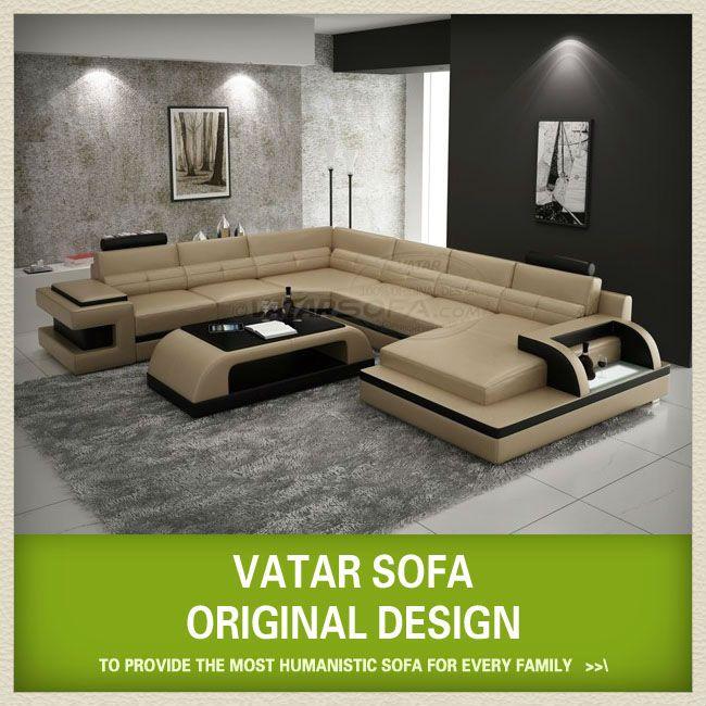 Vatar moderno sofá de canto, um grande sofá de canto, sofá ...