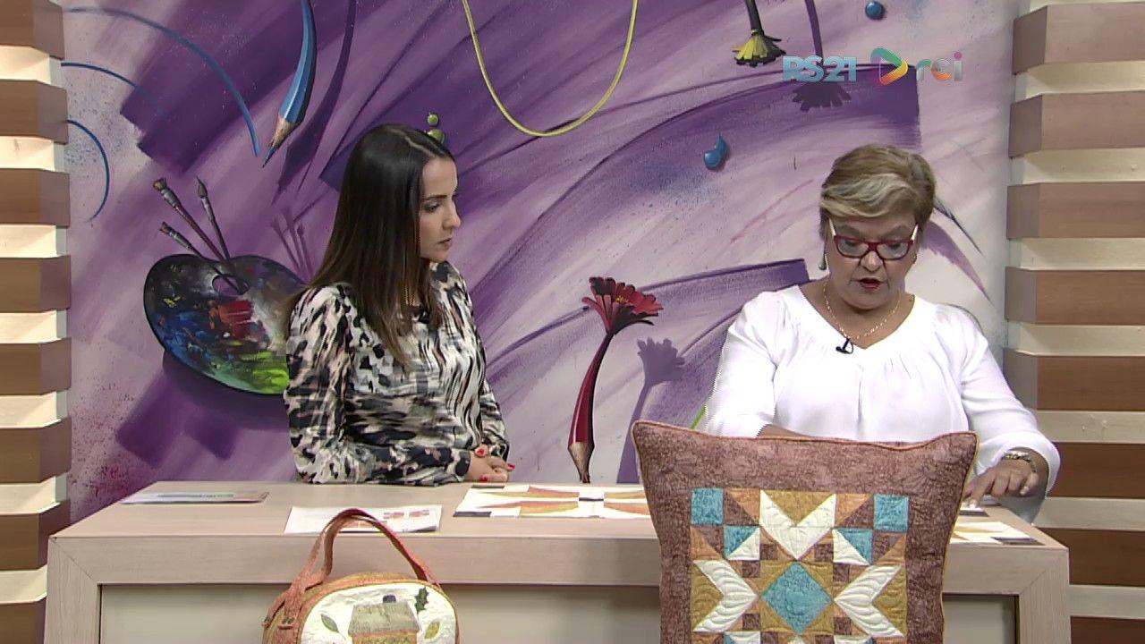 Mulher.com - 23/02/2017 - Caminho de mesa em Patchwork - Ana Consentino P1