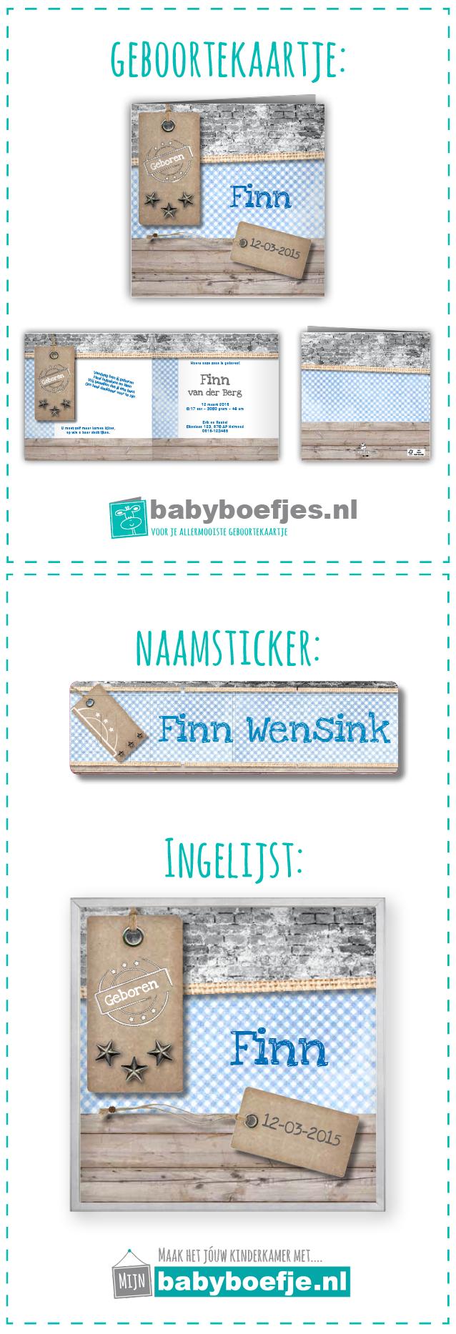#geboortekaartjes #naamsticker #wanddecoratie #babykamer #jongen #retro #steigerhout.  In dezelfde stijl als je geboortekaartje bieden wij ook naamstickers en een ingelijst ontwerp aan. Op deze manier kun je in dezelfde stijl je babykamer nog verder opvrolijken. De geboortekaartjes zijn verkrijgbaar op www.babyboefjes.nl. De naamstickers en wanddecoratie op www.mijnbabyboefje.nl
