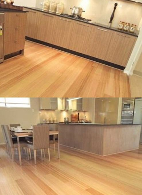 Tasmanian Oak is probably best know for paneling and furniture but it also makes a stunning floor  -  Harness 5.5 Janka  -  From about $55 m2