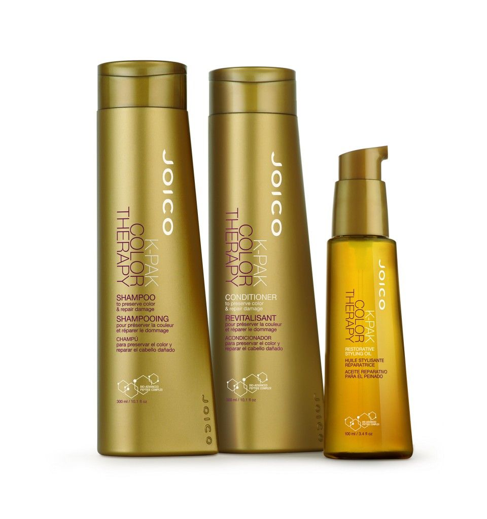 Colour therapy for beauty - Giveaway Joico K Pak Color Therapy Dry Shampoo Wax Finishing Spray