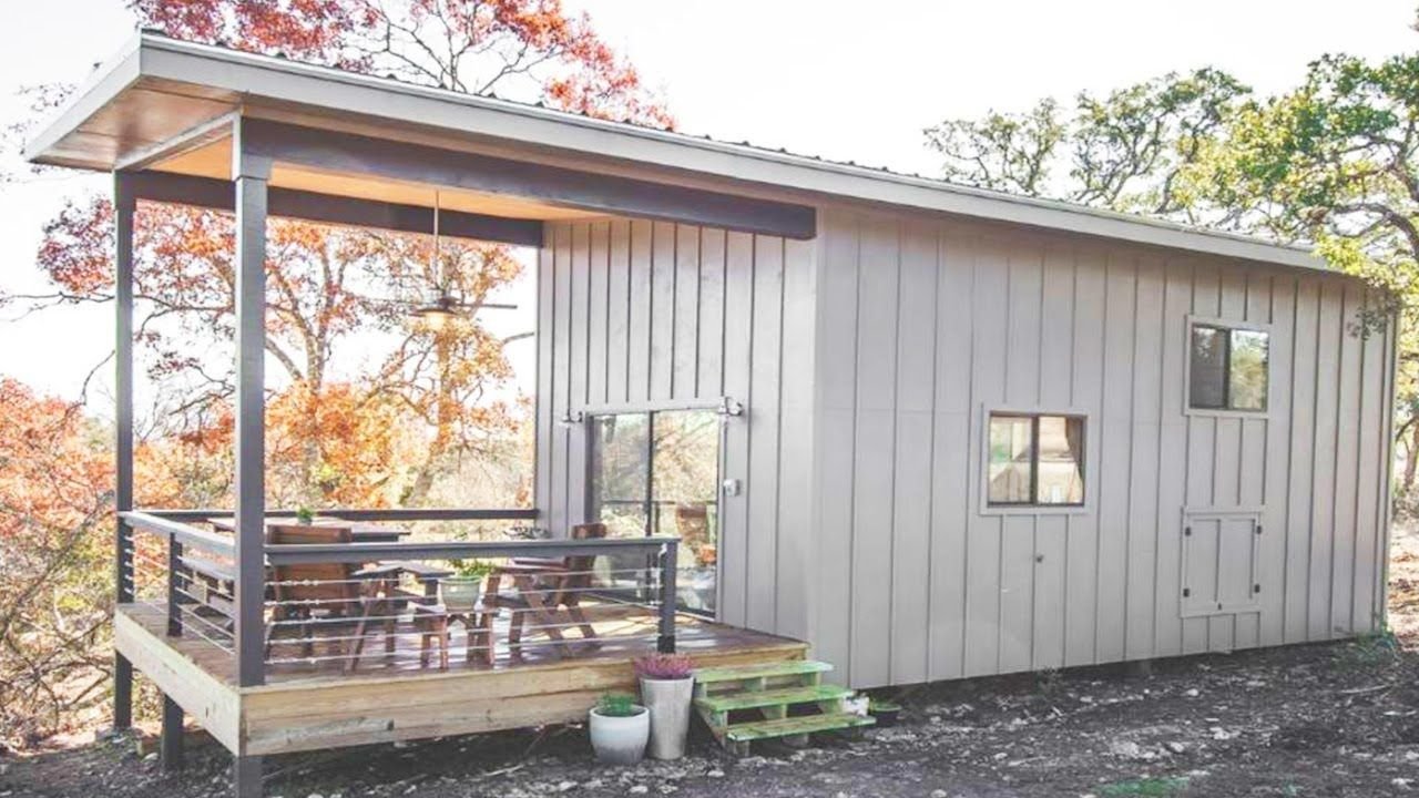 Amazing Modern Hill Country Tiny Cabin For 5 People In