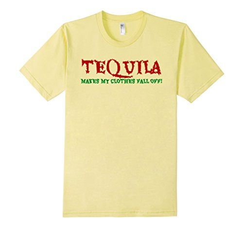 21st Birthday T-shirt Tequila Makes My Clothes Fall Off -...