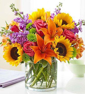 Flowers Flower Delivery Fresh Flowers Online 1 800 Flowers Com Summer Flower Arrangements Sunflower Arrangements Fresh Flowers Online