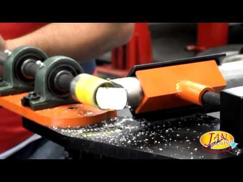 How to fit two pieces of metal tubing together using a ...