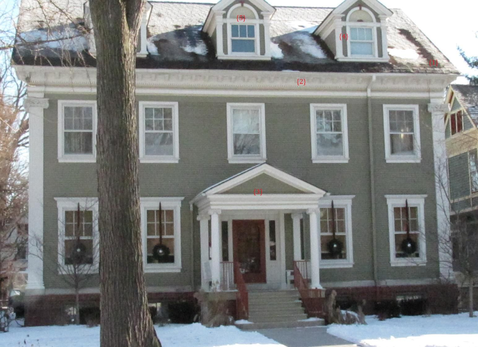 Superior Architects Anonymous: Colonial Revival/Georgian Style Home