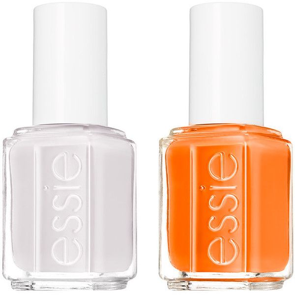 Essie Essie Nail Polish Duo (€16) ❤ liked on Polyvore featuring ...