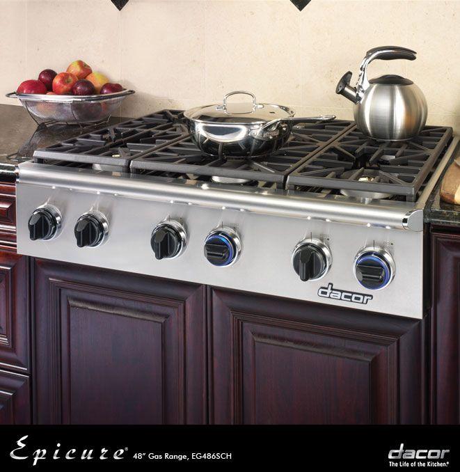 Discovery 48 36 Gas Rangetops Revuu Dacor Kitchen