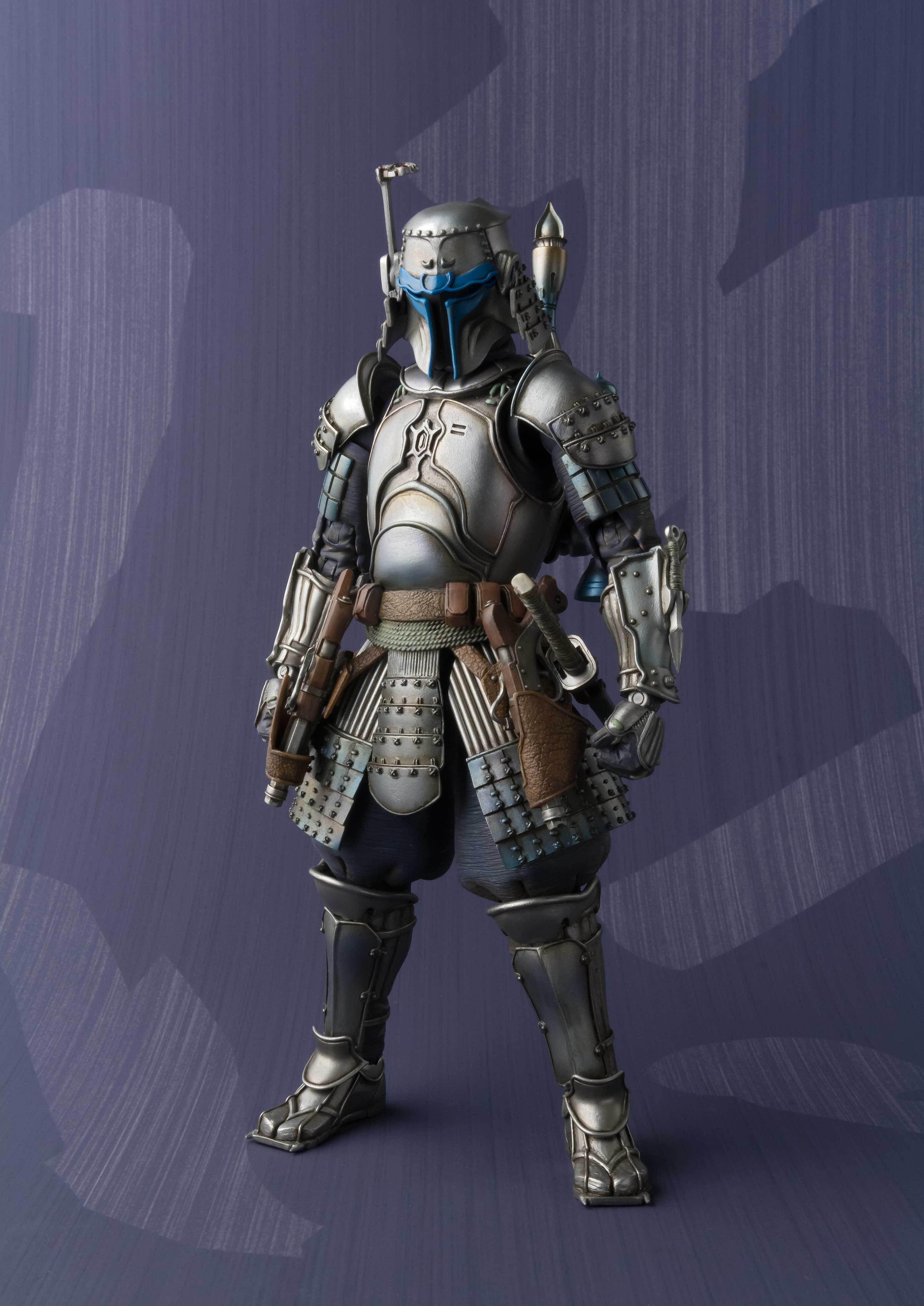 2017 HOT Star Wars Stormtrooper Darth Vader Boba Fett Samurai Movie Realization