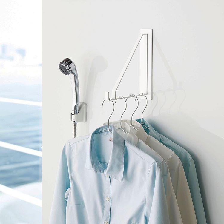 山崎実業 キッチン インテリア ランドリー 収納のメーカーさんはinstagramを利用しています マグネットで簡単取り付け 浴室乾燥を使われている方にオススメの マグネットバス