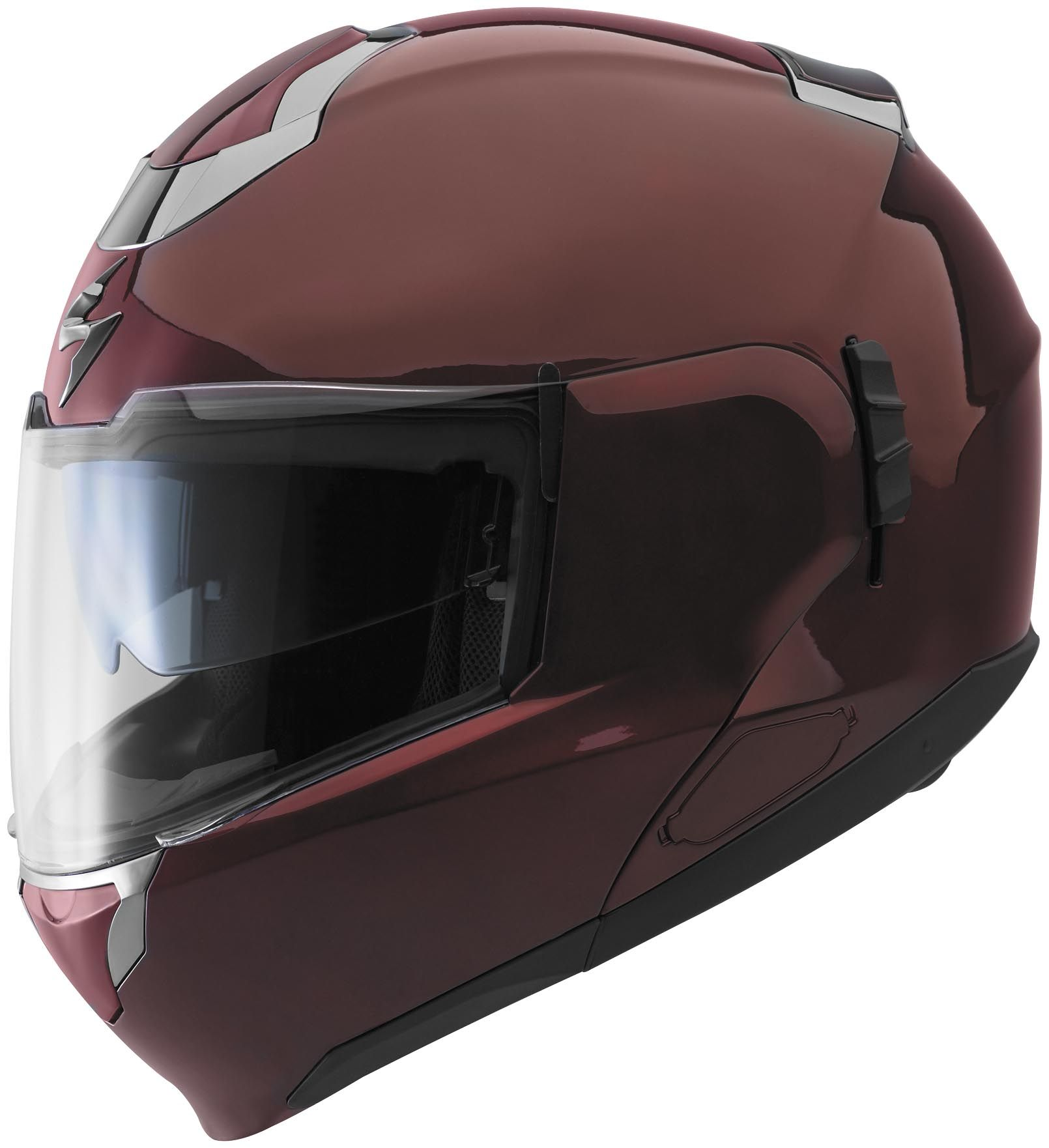 a164a705 Scorpion Exo 900 Modular Transformer Motorcycle Helmet Solid Colors Black  Cherry | eBay