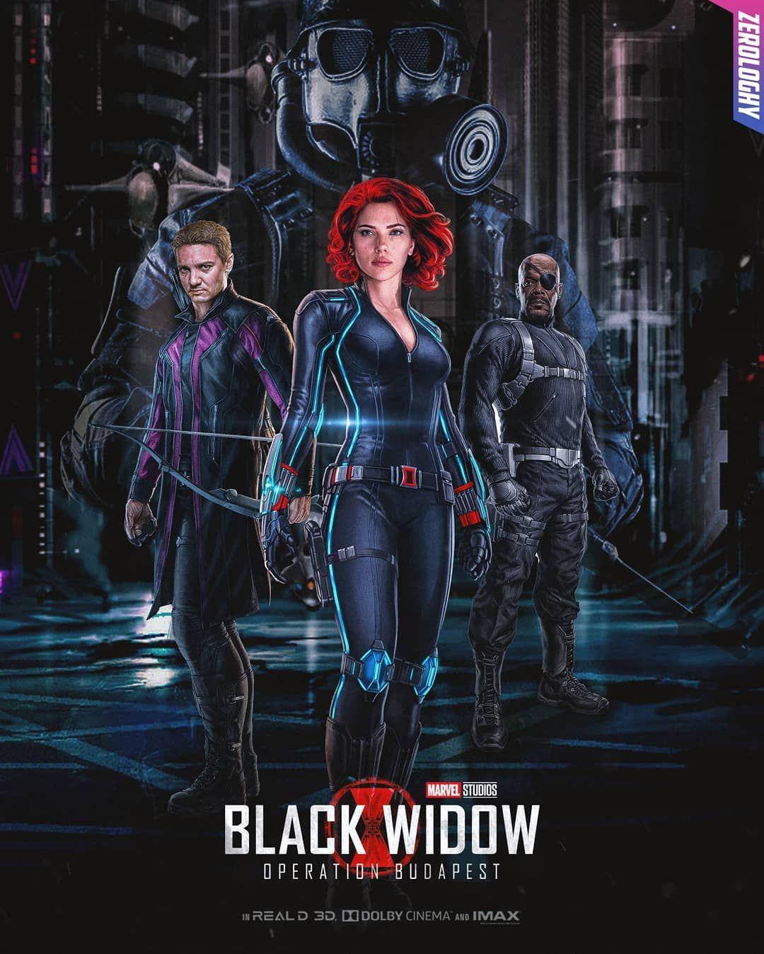 Black Widow: Operation Budapest  Coming 2020  Follow