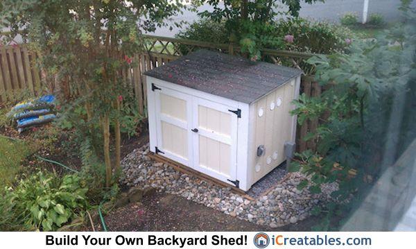 Generator Shed Plans Portable Generator Enclosure Designs Generator Shed Shed Plans Shed