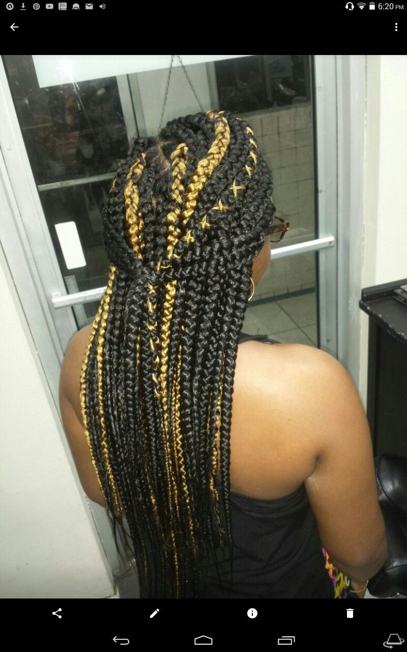Box Braids With Popping Designs Braids Pinterest Pop Design