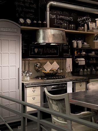 La decoración vintage e industrial de Dialma Brown | Home idea ...