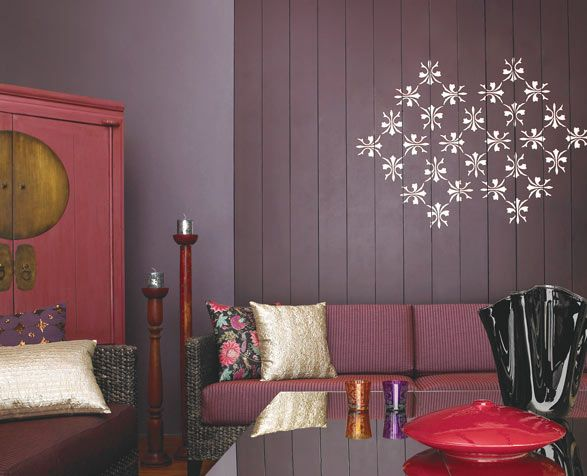 Living Room Inspiration Home Wall Painting Stenciled Wall Decor Paint Colors For Living Room