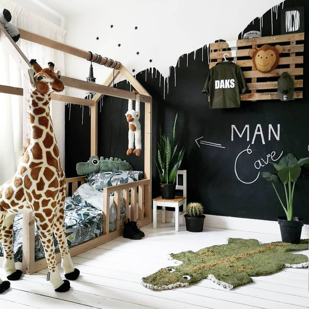Kids Interiors On Instagram Giraffe In The Kid S Room Check Out Our Instastory Today For Giraffes In T Boy Toddler Bedroom Cool Kids Rooms Toddler Rooms Concept cool kids rooms