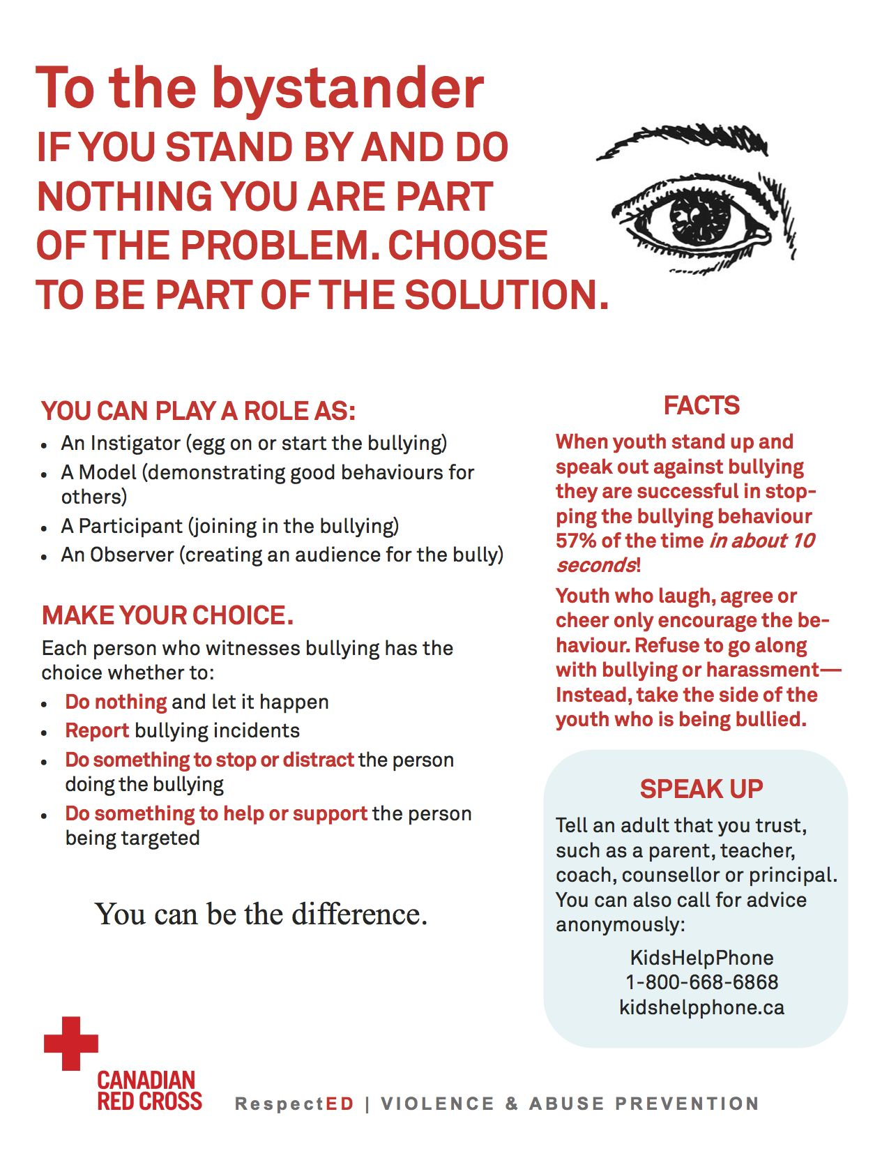 Tips For Bystanders To Bullying 1 275 1 650 Pixels