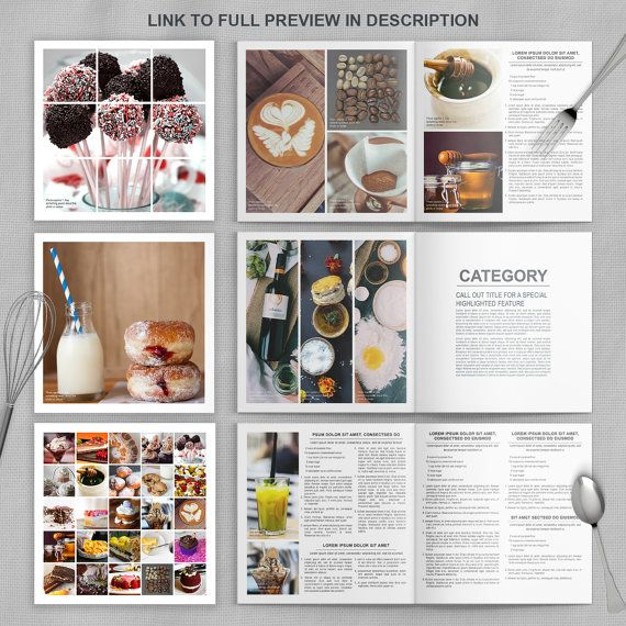 photoshop cookbook template for families chefs and caterers 27