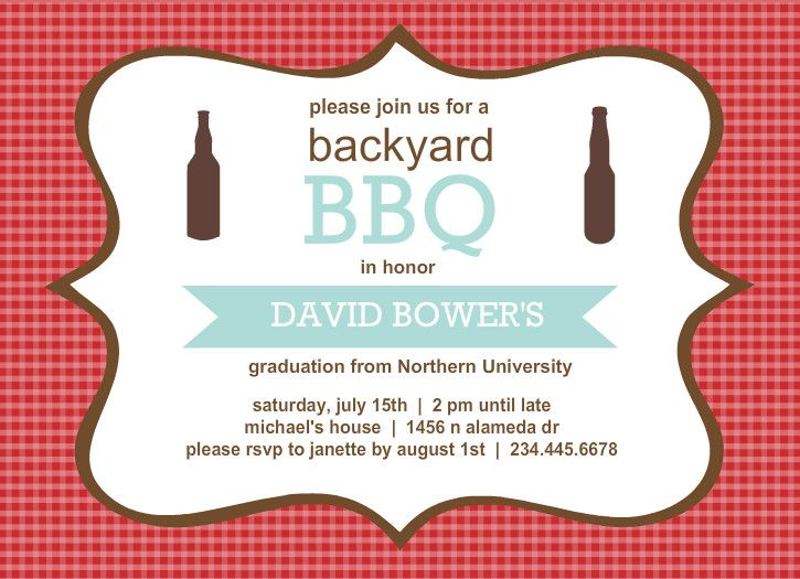 Outdoor Graduation Party Ideas Themes  Invitation Wording