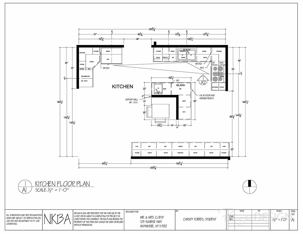 Kitchen Banquette Design Plans Kitchen Floor Plan Draft Featuring An L Shaped Island