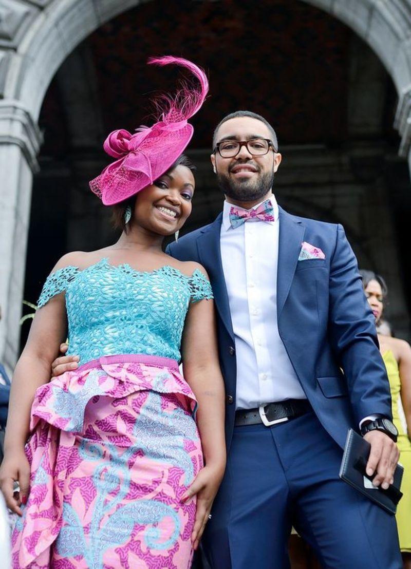 20 Robes De Mariée En Pagne Wax Et Tulle Qui Vont Vous