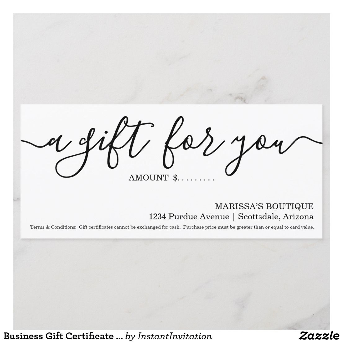 business gift certificate simply right group beauty business