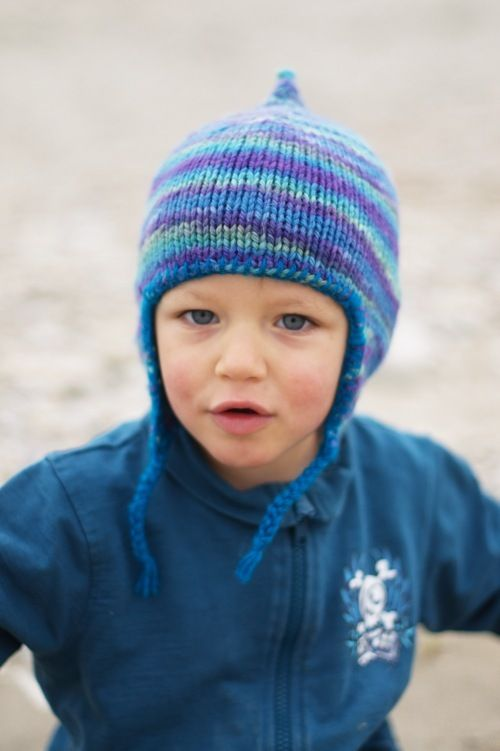 Woolly Wormhead Bimple Childs Chullo Hat Knitting Pattern Make
