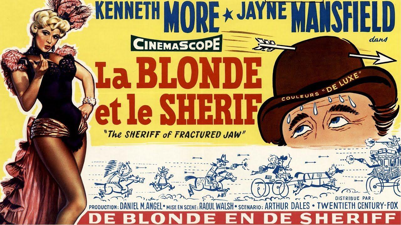 La Blonde Et Le Sherif Film Complet En Francais Western Romance 195 En 2021 Romance Films Complets Film Complet En Francais