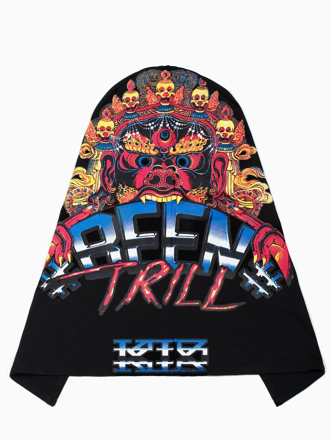 Tibet Monster Mask from F/W2014-15 KTZ x Been Trill capsule collection in black