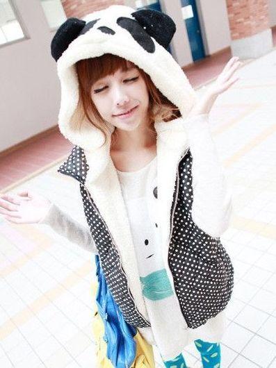 #cute #girls #fashion #seller #onlineshop #instadaily #storenvy #vanitytreasures #instagood #seller #panda #hood #vest
