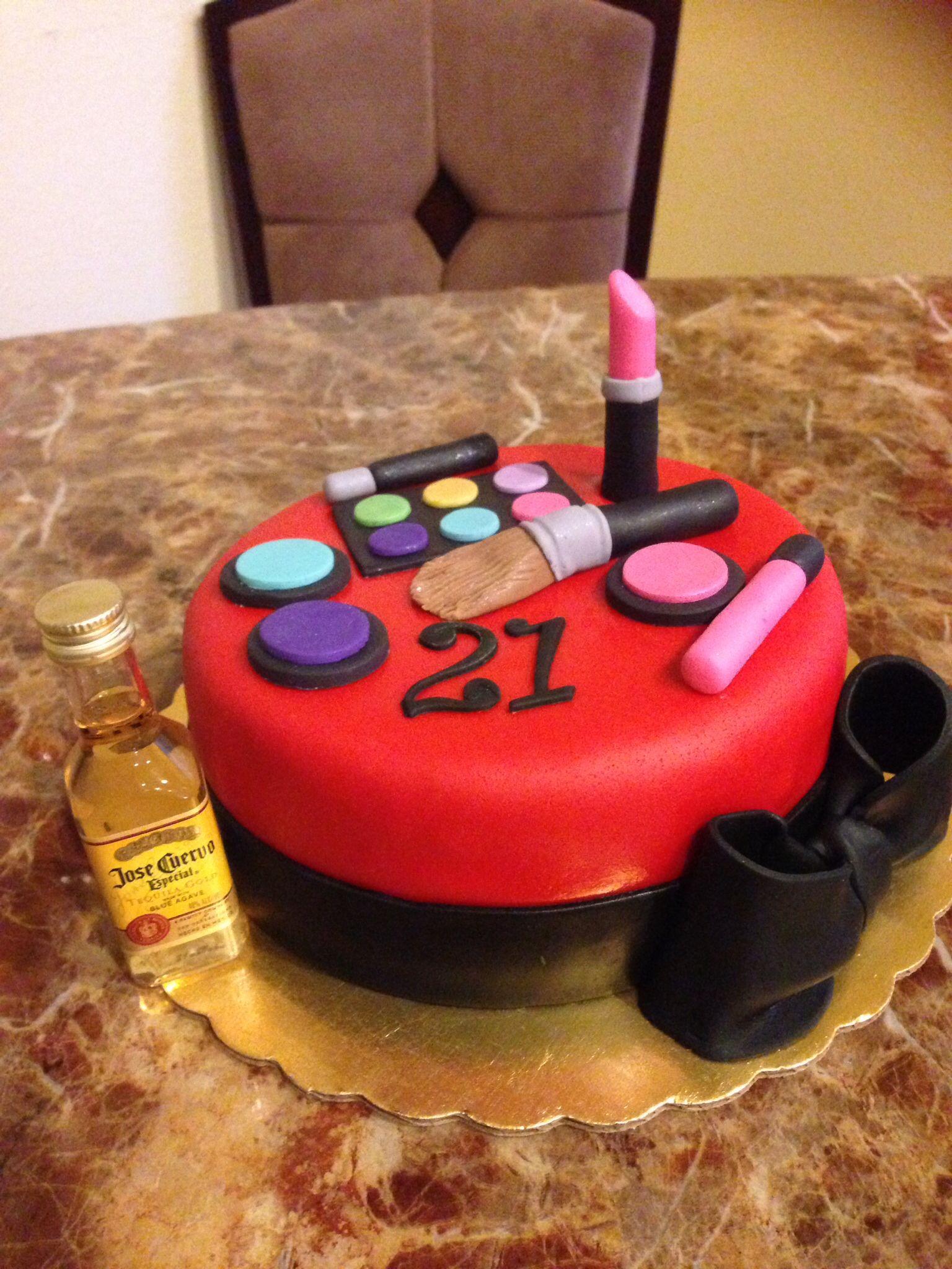My daughter 21st Birthday cake Birthday Pinterest 21st