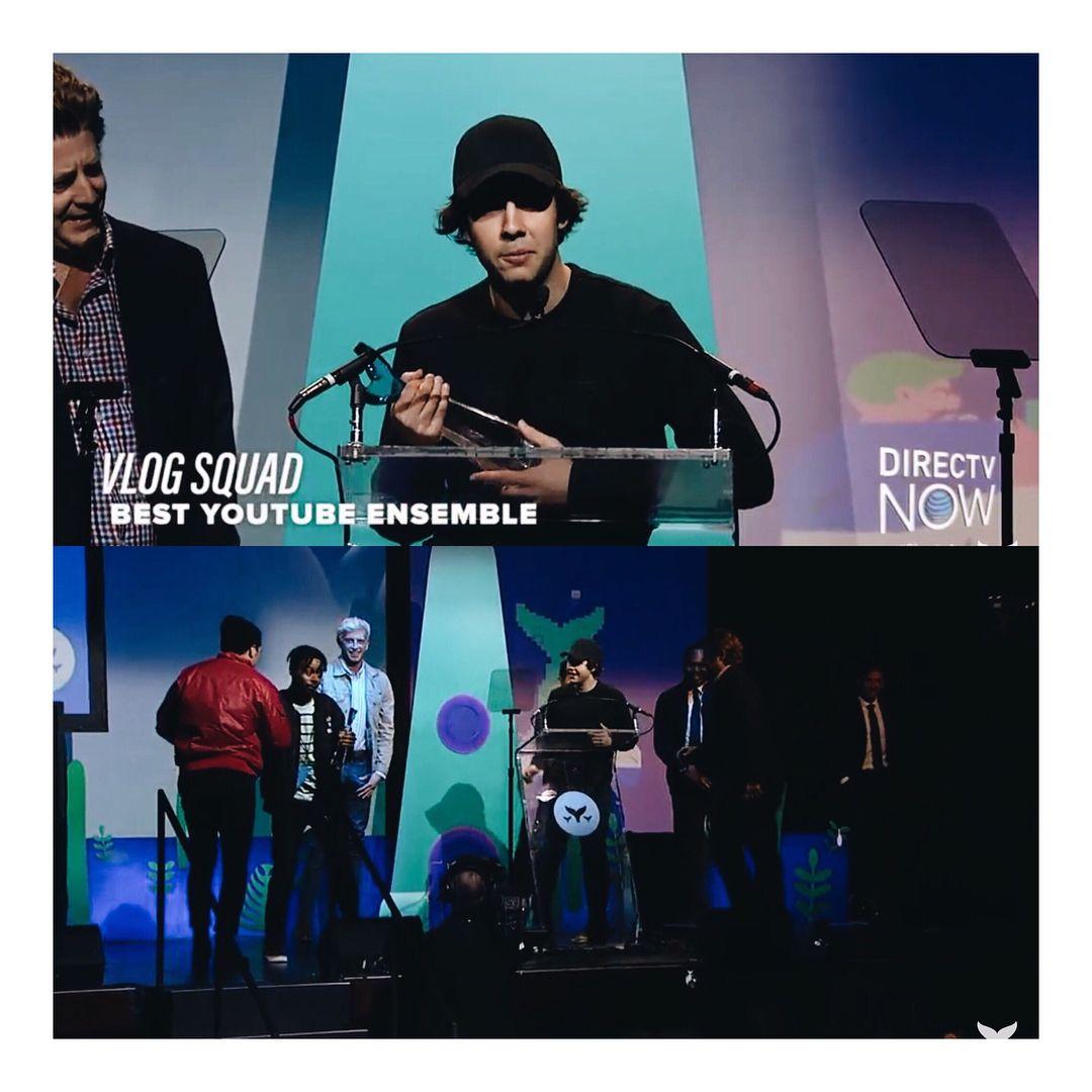 Vlog Squad won best ensemble and Views won best podcast