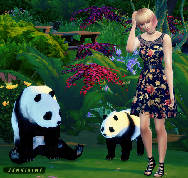 Sims 4 CC's - The Best: Decorative Panda, Owl and Gnome by JenniSims