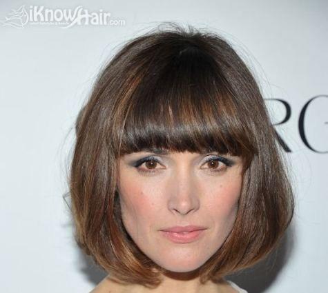 Bangs And Fringes Gallery Names Of Hairstyles Frauen Frisuren