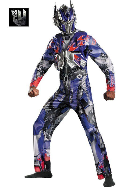 Adult Plus Size Optimus Prime Deluxe Costume